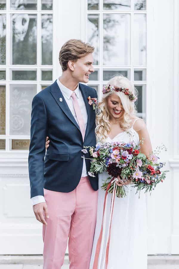Svatební kytice pro nevěstu.