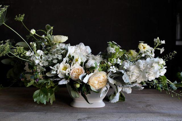 Velká květinová mísa na stůl